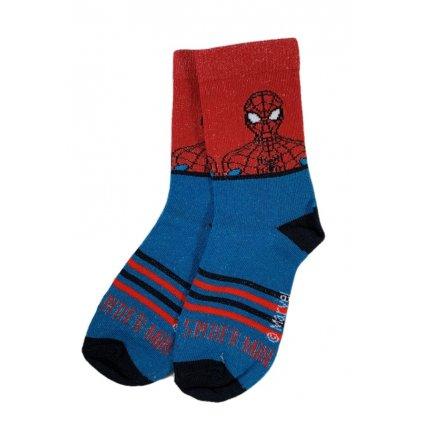 Detské ponožky Spiderman dvojfarebné (Farba Multifarebné, Veľkosť 23-26)