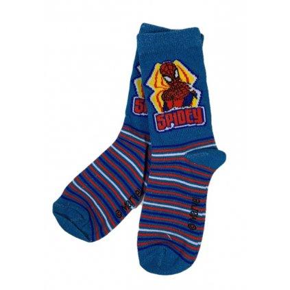 Detské ponožky Spiderman Spidey (Farba Tyrkysová, Veľkosť 23-26)