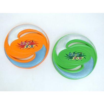 Lietajúci tanier frisbee Ø26cm, PoloTrade (Farba Oranžová, Veľkosť Neurčená)