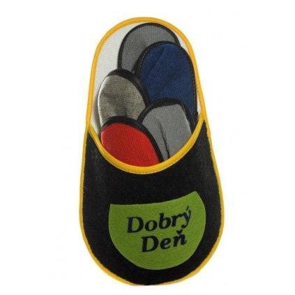 Papuče v papuči - dobrý deň, PoloTrade (Farba Multifarebné, Veľkosť Neurčená)