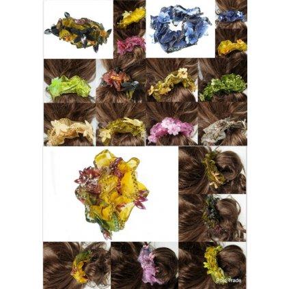 Gumičky 12ks - cena za balenie (Farba Multifarebné, Veľkosť Neurčená)