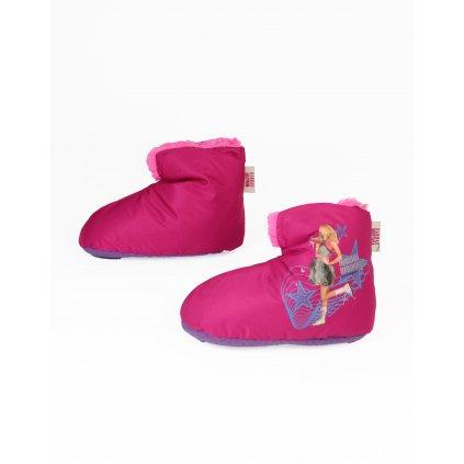 Detské papuče Hannah Montana (Farba Neurčená, Veľkosť Neurčená)