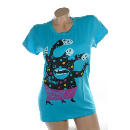 Dámske tričko - príšera (Farba Neurčená, Veľkosť Neurčená)