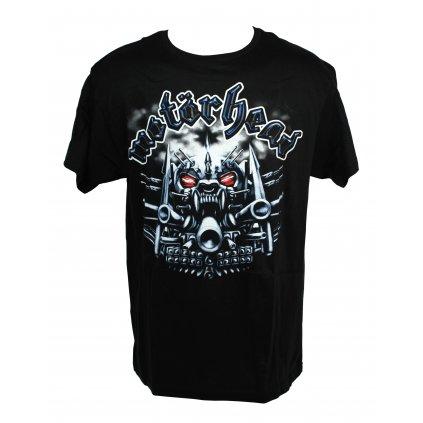 Tričko Motorhead - po uši ozbrojená smrtka (Farba Čierna, Veľkosť M)