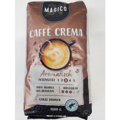 Zrnková káva Magico Kaffe Caffe Crema, Arabica a Robusta, 1kg, PoloTrade (Farba Hnedá, Veľkosť 1kg)