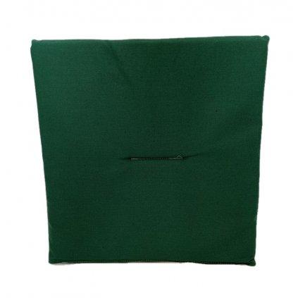 Jednostranný sedák jednofarebný, PoloTrade (Farba Zelená, Veľkosť 1761 - 37*37CM)
