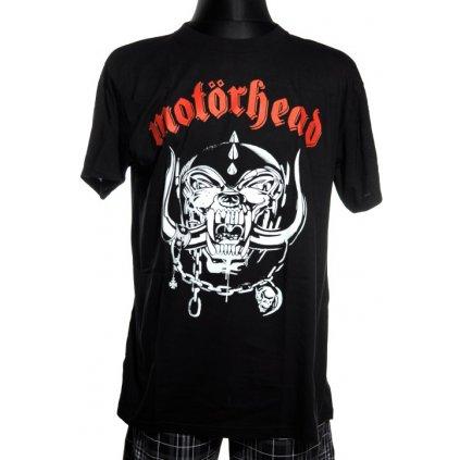 Pánske tričko Motorhead - logo kapely (Farba Čierna, Veľkosť S)