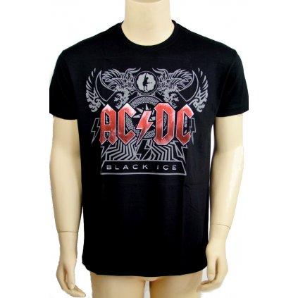 Tričko ACDC - Black Ice Album (Farba Čierna, Veľkosť S)