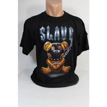 Pánske tričko PoloTrade Slave (Farba Čierna, Veľkosť M)