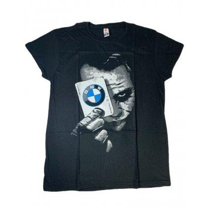 Pánske tričko PoloTrade BMW Joker (Farba Čierna, Veľkosť S)
