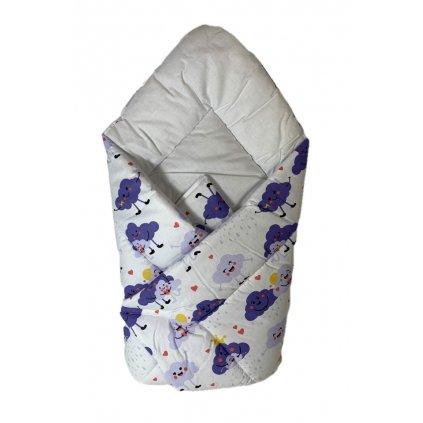 Zavinovačka obláčiky, PoloTrade (Farba Biela, Veľkosť 75x75cm)