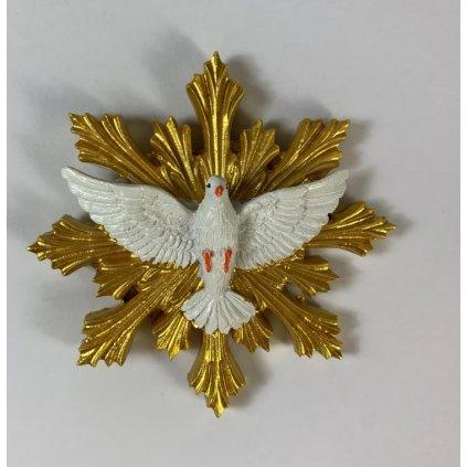 Magnetka holubica (Farba Zlatá, Veľkosť 7cm)