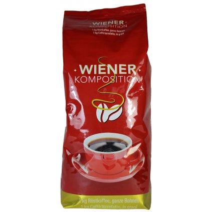 Zrnková káva Wiener Komposition - Viedenská káva, 1kg (Farba Hnedá, Veľkosť 1kg)