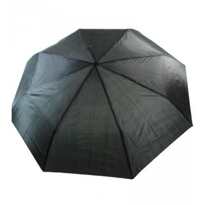 Skladací dáždnik štvorčeky 25cm (Farba Tmavošedá, Veľkosť 25cm)