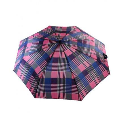 Dáždnik skladací farebné štvorce (Farba Ružová, Veľkosť 25cm)