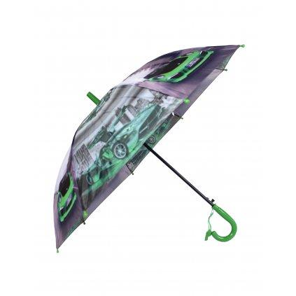 Detský dáždnik - Porsche a Pagani, P85cm (Farba Zelená, Veľkosť 66cm)