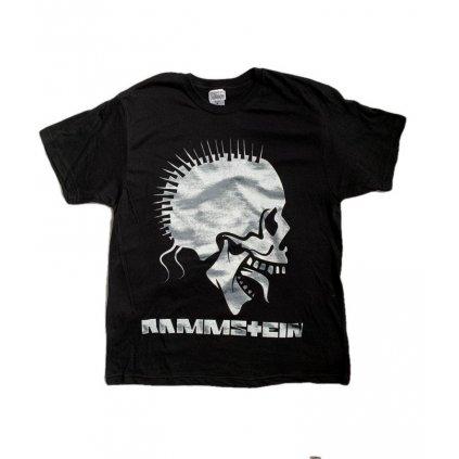 Tričko PoloTrade Rammstein s obojstrannou potlačou (Farba Čierna, Veľkosť S)