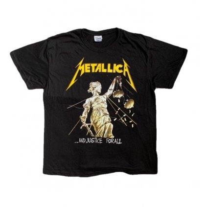 Tričko PoloTrade METALLICA Justice for All (Farba Čierna, Veľkosť S)