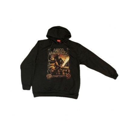 Mikina s kapucňou AMON AMARTH (Farba Čierna, Veľkosť S)