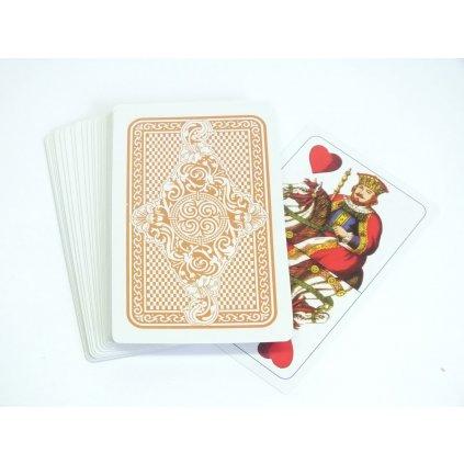 Hracie karty - sedmové (Farba Multifarebné, Veľkosť 10x6cm)