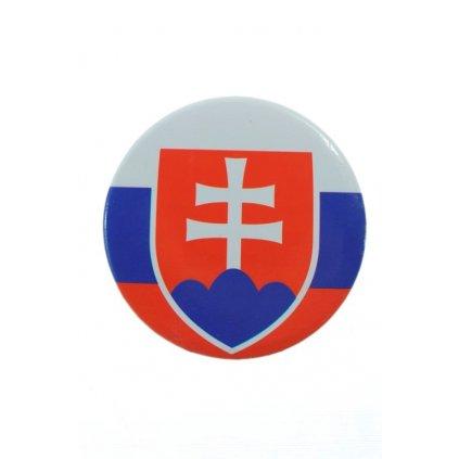 Odznak SLOVAKIA 4,5cm (Farba Multifarebné, Veľkosť 4.5cm)