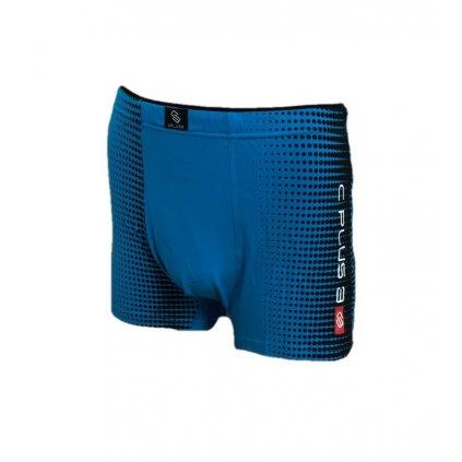Pánske boxerky /VBE407/ vzorované (Farba Červená, Veľkosť M)