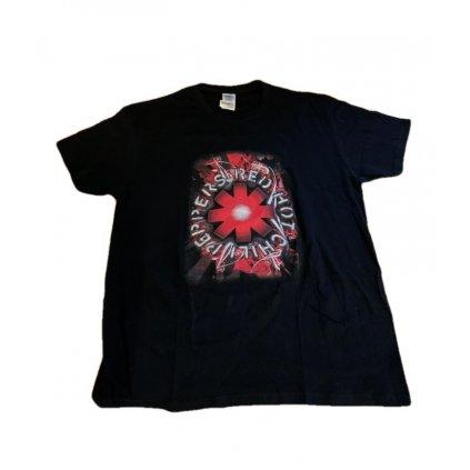 Pánske tričko Red Hot Chili Peppers (Farba Čierna, Veľkosť M)