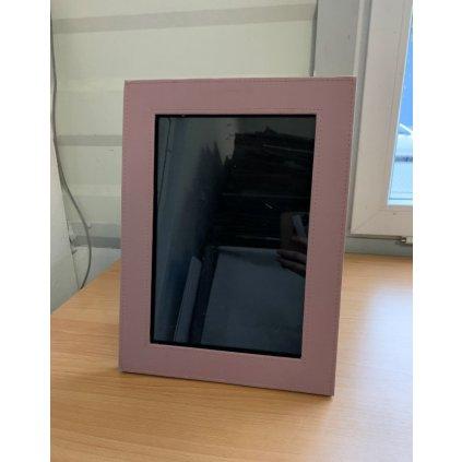 Kožený fotorám 37*28cm (Farba Ružová, Veľkosť 1795 - 37*28CM)