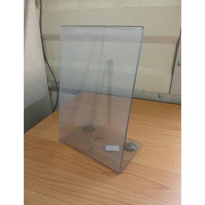 Plastový stojan na cenovky 31*21cm (Farba Transparent, Veľkosť 1800 - 31*21CM)