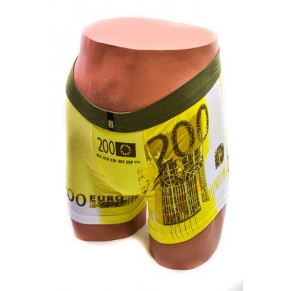 Pánske boxerky - 200 EURO (Farba Žltá, Veľkosť M)