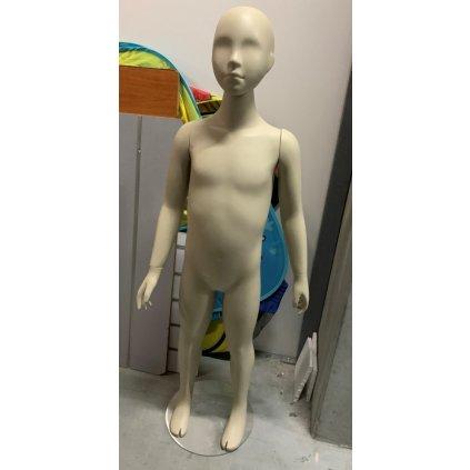 Detská figurína stojacá (Farba Svetlohnedá, Veľkosť 125CM)