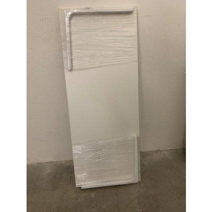Drevená biela s konzolami 100*40*2 (Farba Biela, Veľkosť 1808 - 100*40)