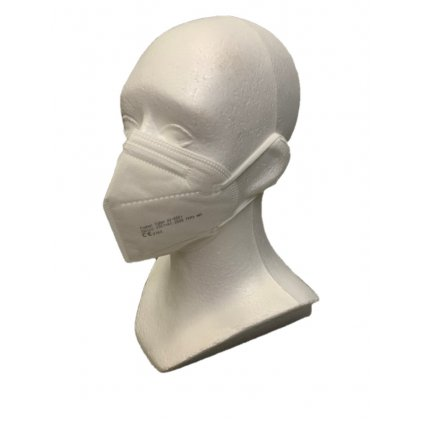 Ochranný respirátor - FFP2 biely, 2 kusy v balení