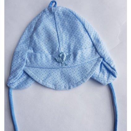 Prievzdušná kojenecká čiapka na viazane 12m