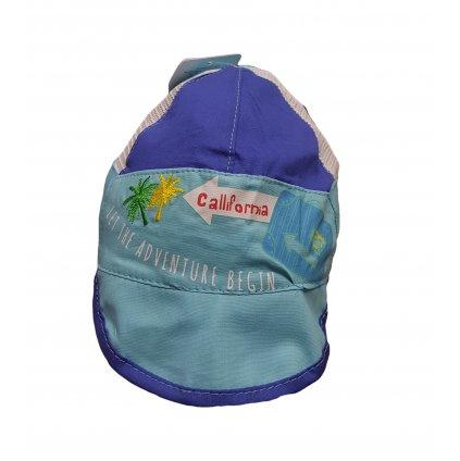 Kojenecká čiapka sošiltom Callifornia