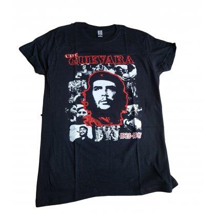 Čierne pánske tričko Che Guevara