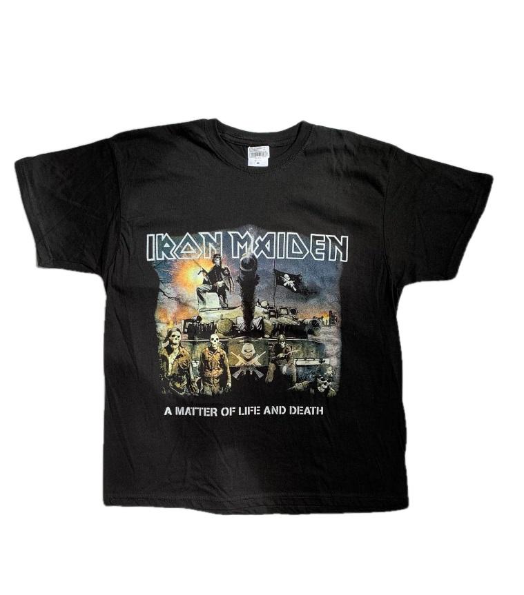 """Tričko Iron Maiden """"A matter of life and death"""" obojsranná potlač Farba: Čierna, Veľkosť: M"""