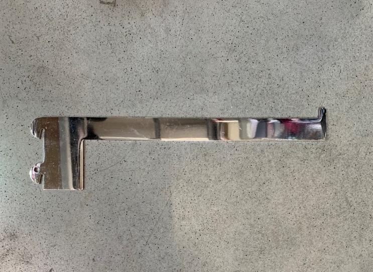Konzola do úzkeho rebrikového systému 34x3cm  A Farba: Strieborná, Veľkosť: 34 CM