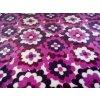 Deka fialové kvety 150x200cm, PoloTrade (Farba Fialová, Veľkosť 200x150cm)