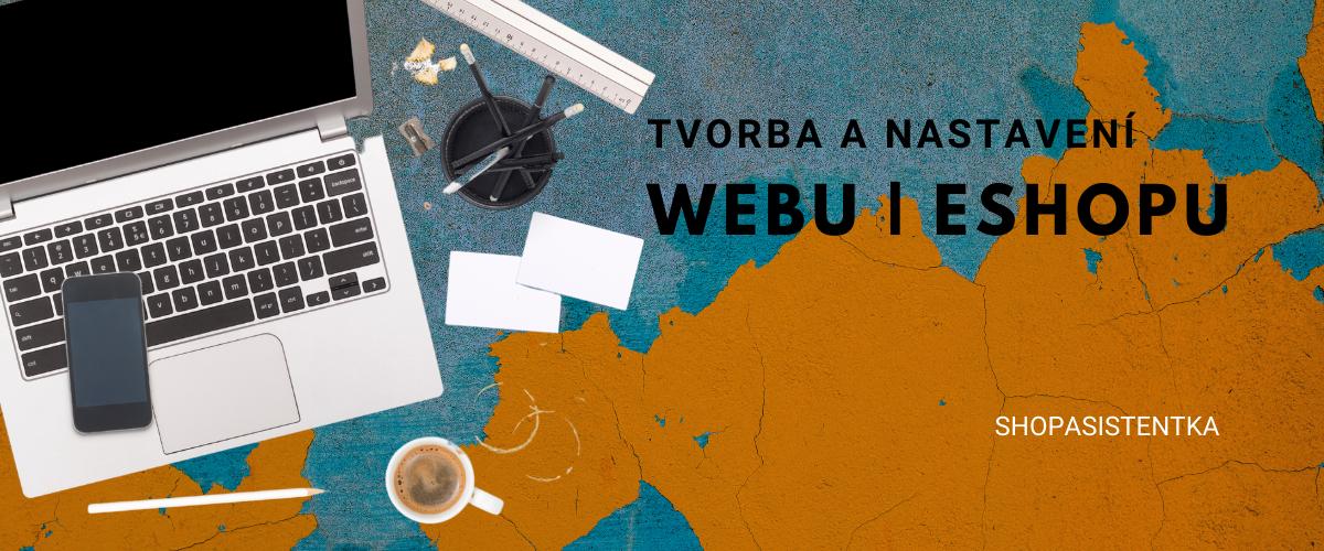 Shopasistentka tvorba webů