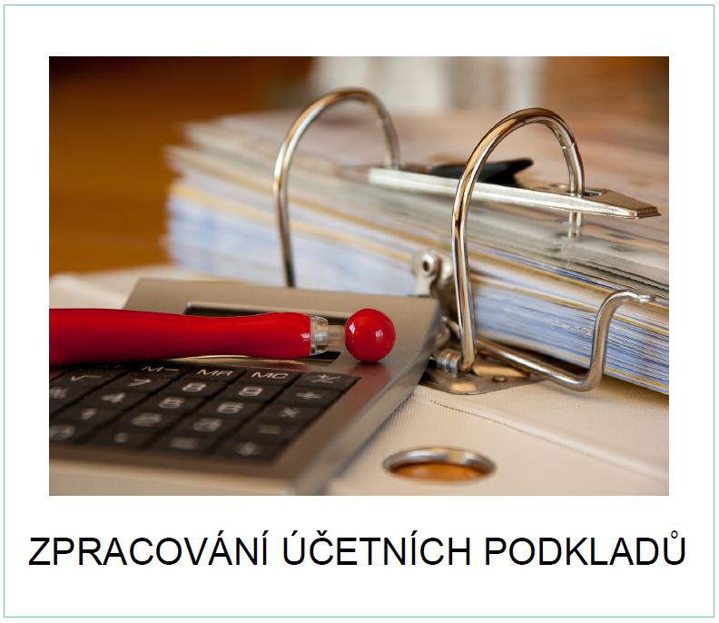 Zpracování účetních podkladů