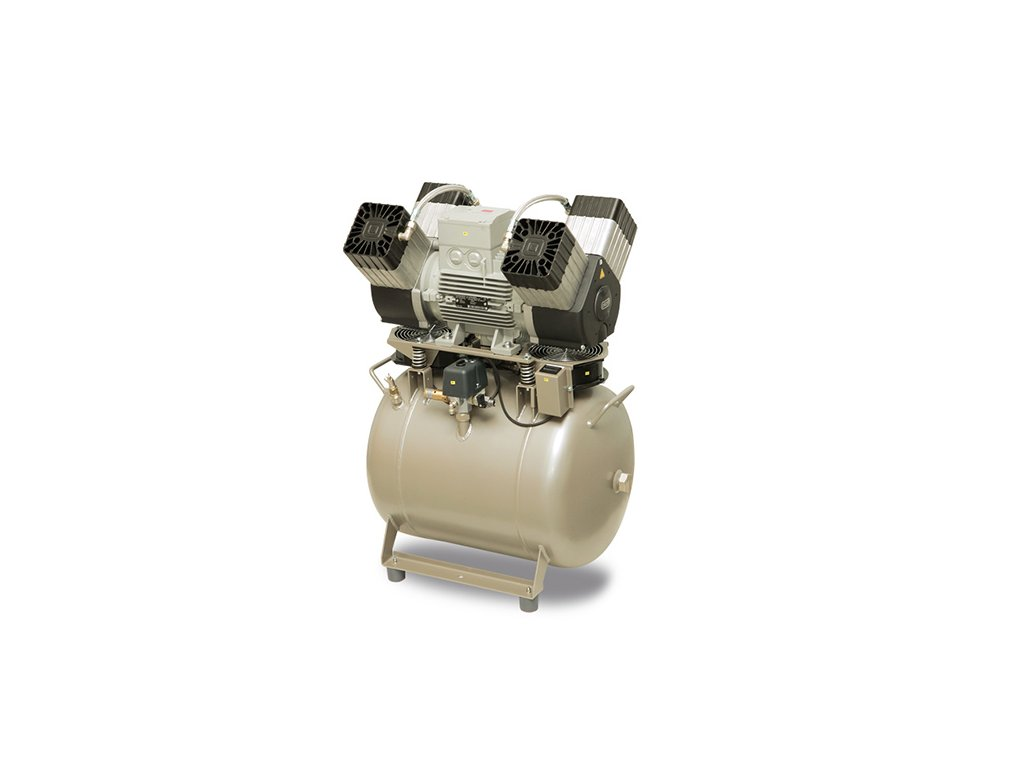 Dentalny kompresor DK50 4VR 50 bademico
