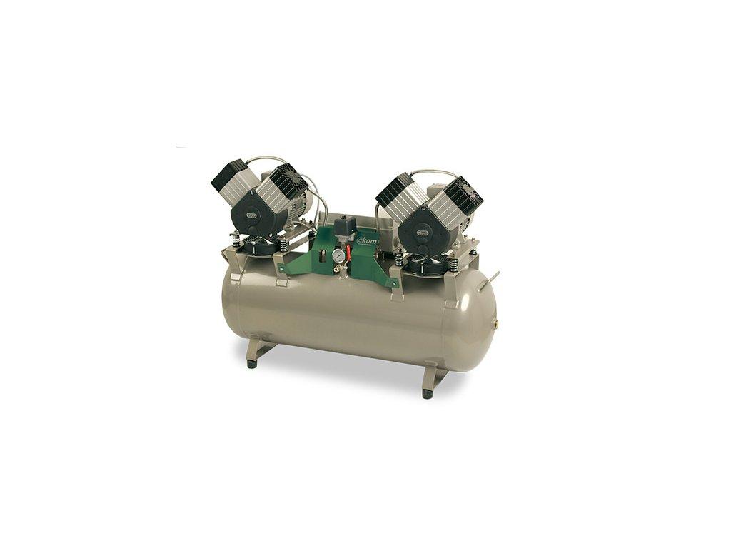 Dentalny kompresor DK50 2x2V 110 bademico