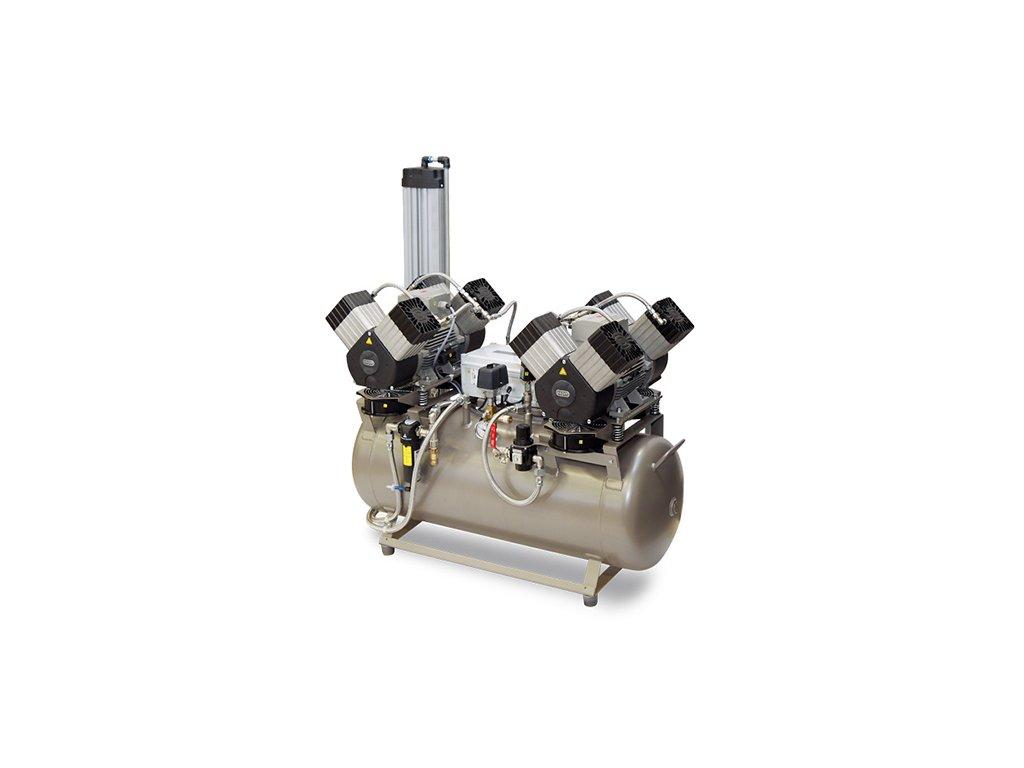 Dentalny kompresor DK50 2X4VR 110M 2 bademico