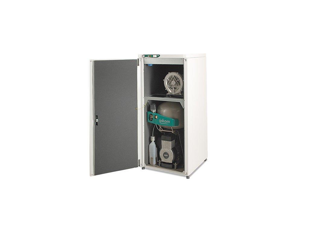 Dentalny kompresor s odsavackou DUO bademico