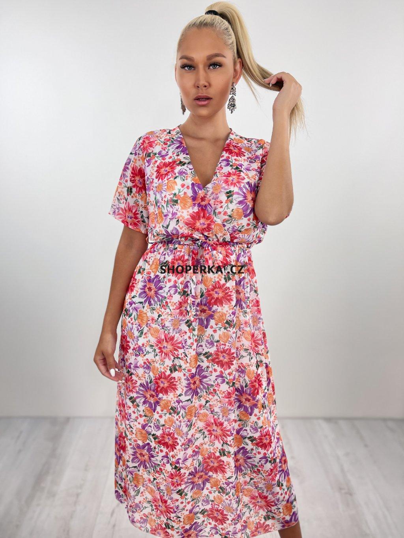 Květinové šaty Neomi
