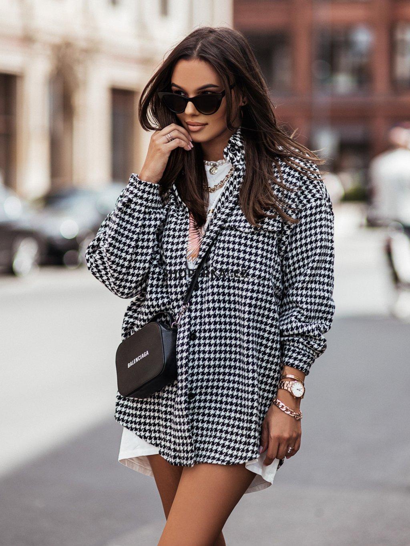 jacket pepitka h7958 black white(2)