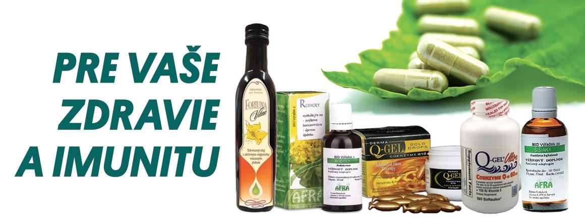 Pre vaše zdravie a imunitu