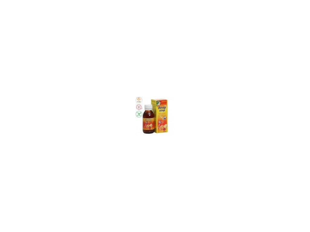 Detský sirup s vitamínom C 130 g