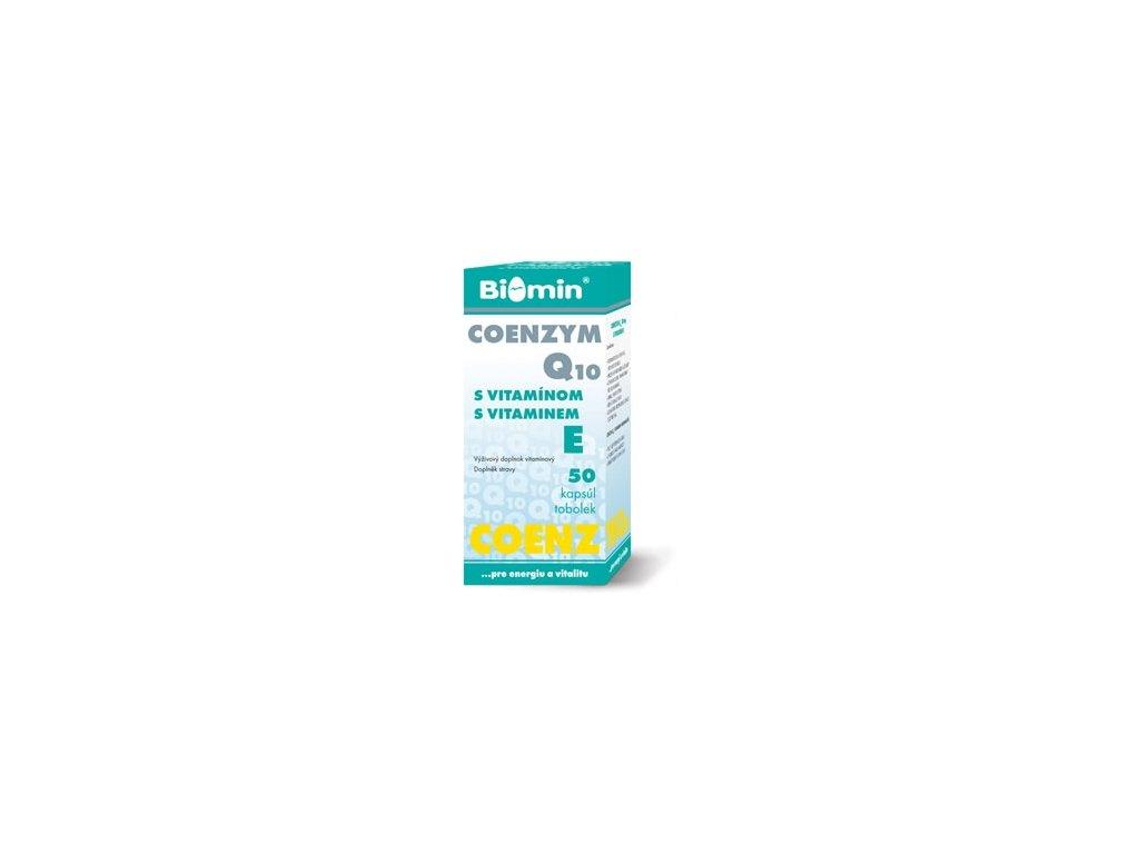 COENZYM 10 mg Q10 s vitamínom E 50 tabliet